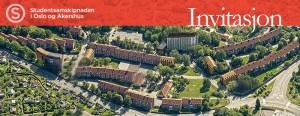 INVITASJON TIL 75 ÅRS JUBILEUM OG ÅPNING AV NYE STUDENTBOLIGER PÅ SOGN STUDENTBY